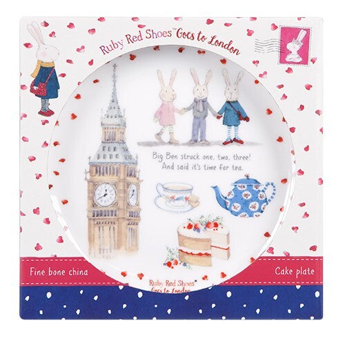 Ruby Red Shoes Big Ben 15cm Cake Plate - STEAM Kids Brisbane