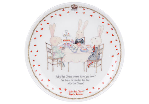 Ruby Red Shoes London Cousins 15cm Cake Plate - Flying Fox Shop Brisbane