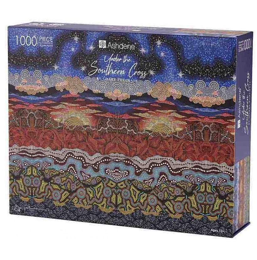 Under the Southern Cross 1000 Piece Puzzle | Gary Purchase | Ashdene Eco Puzzle - STEAM Kids Brisbane