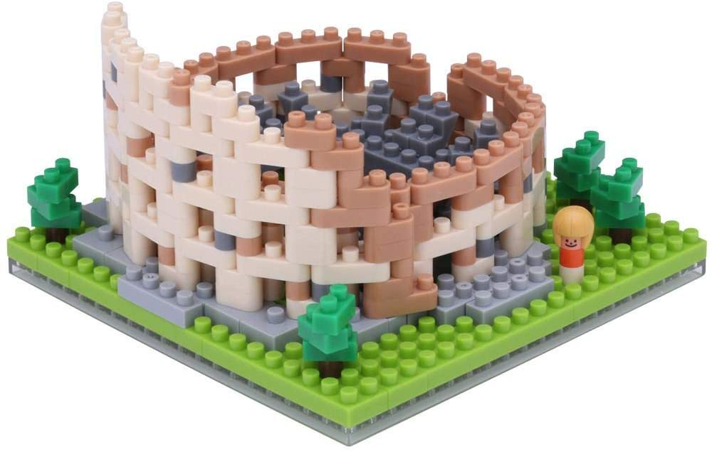 Colosseum Nanoblock NBH121 - STEAM Kids Brisbane