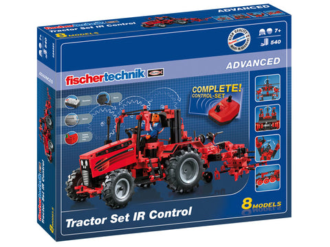 Fischertechnik Tractor Set with IR control - STEAM Kids Brisbane