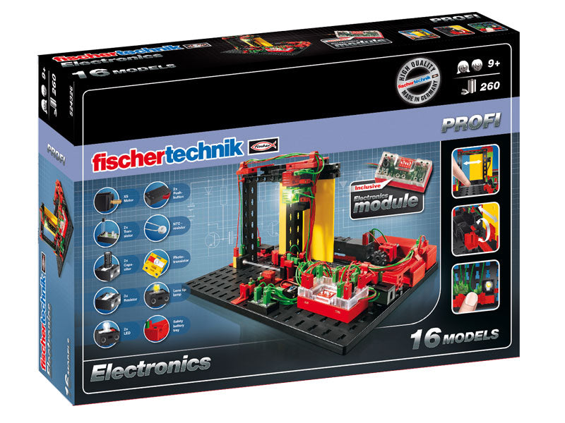 Fischertechnik Electronics - STEAM Kids Brisbane