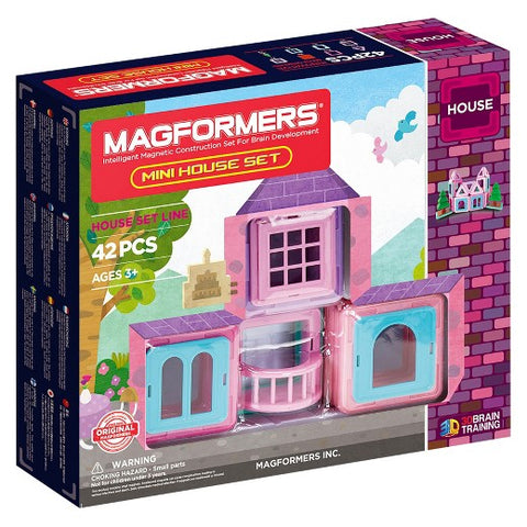 Magformers Mini House Set - Flying Fox Shop Brisbane