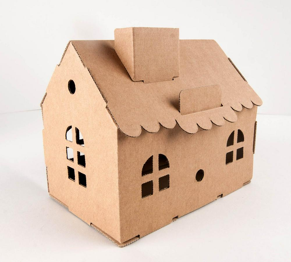 Leolandia House Money Box - Natural - STEAM Kids Brisbane