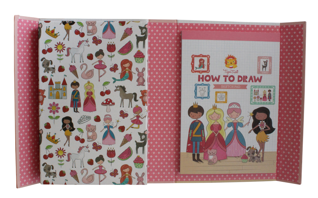 Tiger Tribe How To Draw - Fairy Tales - STEAM Kids
