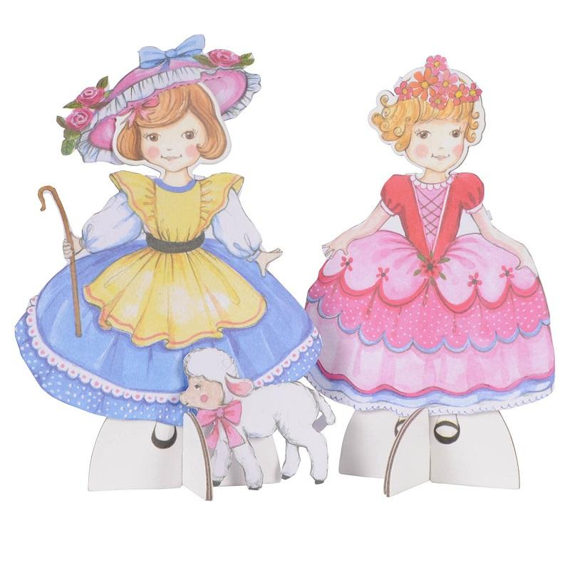 Tiger Tribe Paper Dolls Kit Princesses & Belles - STEAM Kids Brisbane
