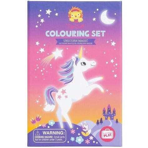 Unicorn Magic Colouring Set Tiger Tribe - Flying Fox Shop Brisbane