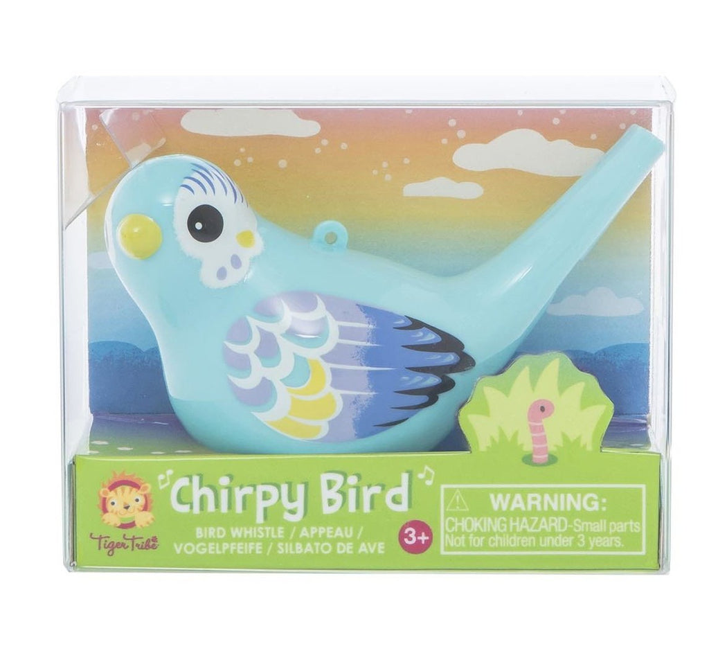 Tiger Tribe Chirpy Bird Whistle - Blue - STEAM Kids