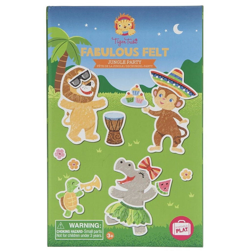 Tiger Tribe Fabulous felt - Jungle Party - STEAM Kids