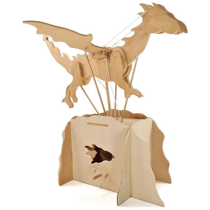 Pathfinders Flying Dragon Automata Kit - STEAM Kids