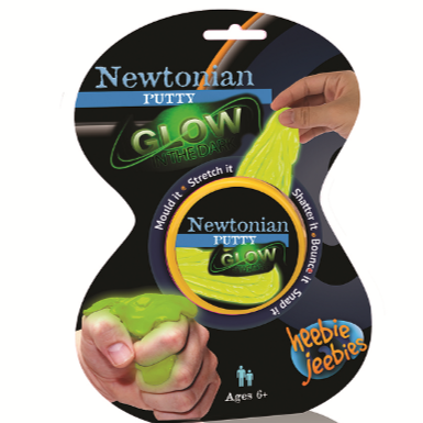 Heebie Jeebies Newtonian Putty Glow In The Dark - STEAM Kids Brisbane