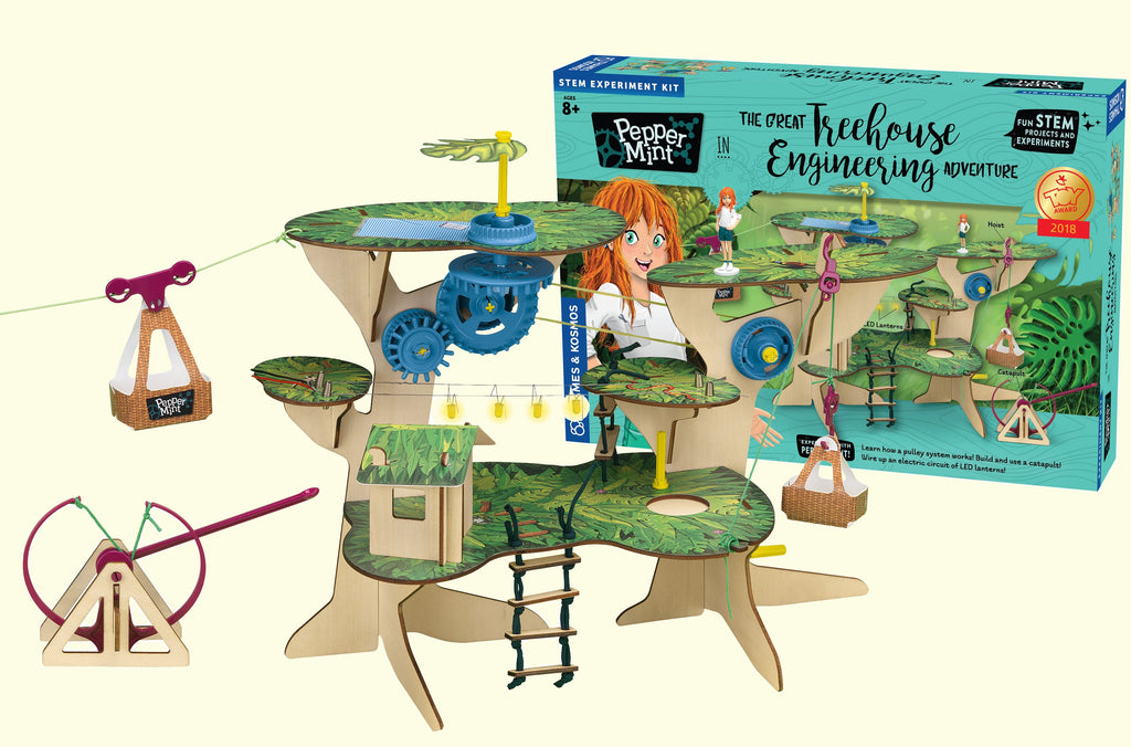 Pepper Mint Treehouse Engineering Adventure Kit - STEAM Kids Brisbane