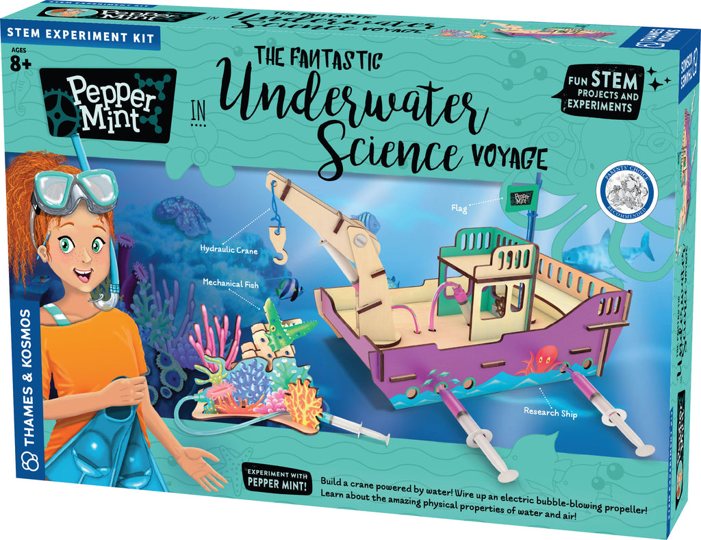 Pepper Mint in the Fantastic Underwater Science Voyage - STEAM Kids Brisbane
