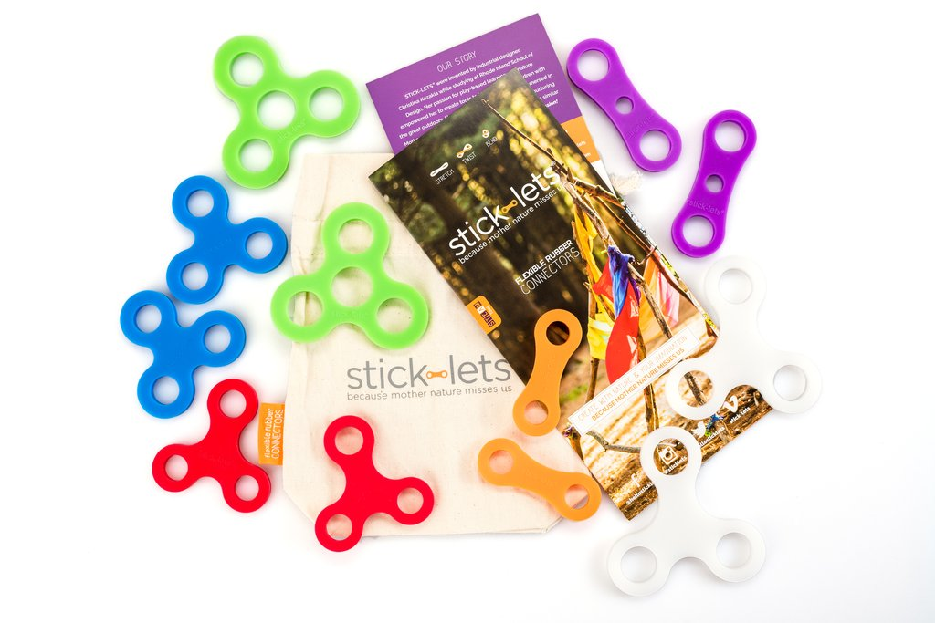 Stick-lets Dodeka 12pce Kit - STEAM Kids Brisbane