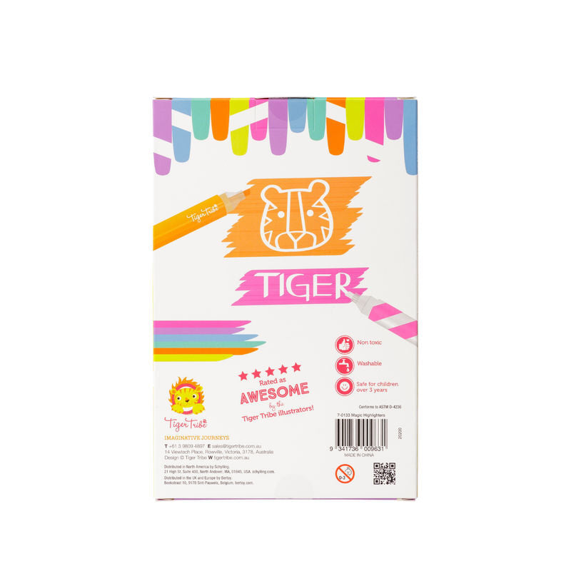 Tiger Tribe | Magic Highlighters - STEAM Kids Brisbane