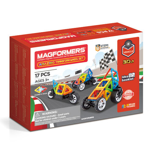 Magformers Amazing Transform Wheel Set - STEAM Kids Brisbane