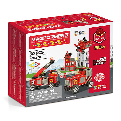 Magformers Amazing Rescue Set 50 Piece - STEAM Kids Brisbane