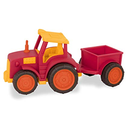 Battat Wonder Wheels Tractor and Trailer - STEAM Kids Brisbane