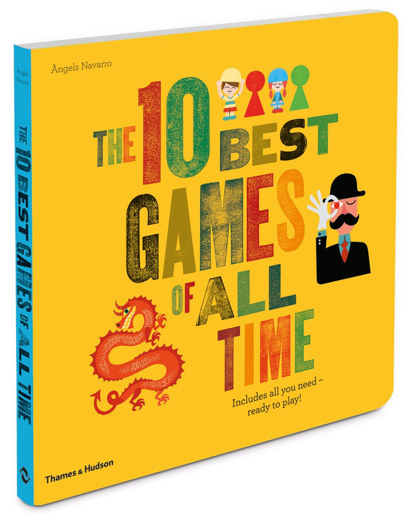 The 10 Best Games of All Time Book - STEAM Kids