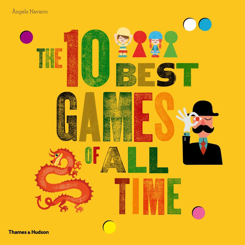The 10 Best Games of All Time Book - STEAM Kids Brisbane