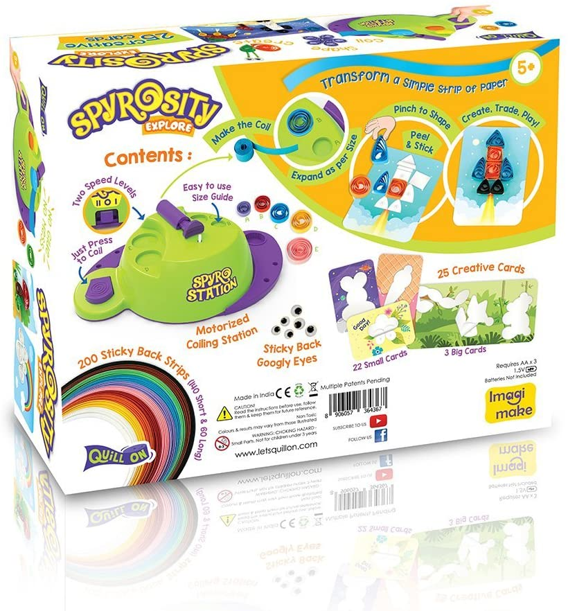 Spyrosity Explore- Quilling Based Creative Toy and Activity Set– - STEAM Kids Brisbane