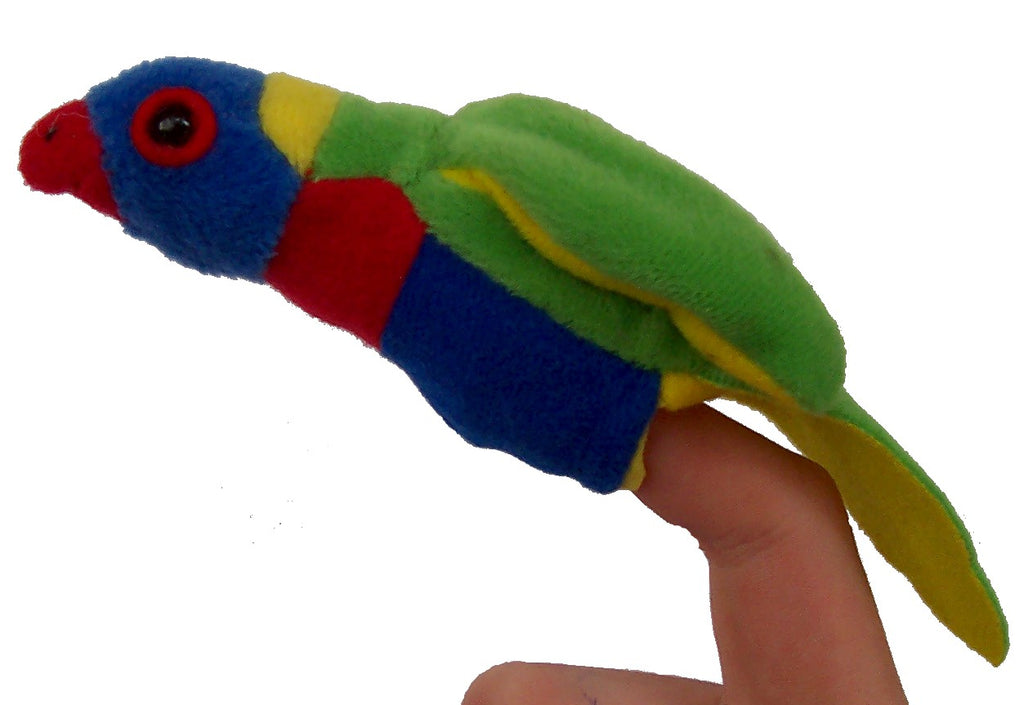 Lorikeet Finger Puppet | Animals of Australia | - STEAM Kids