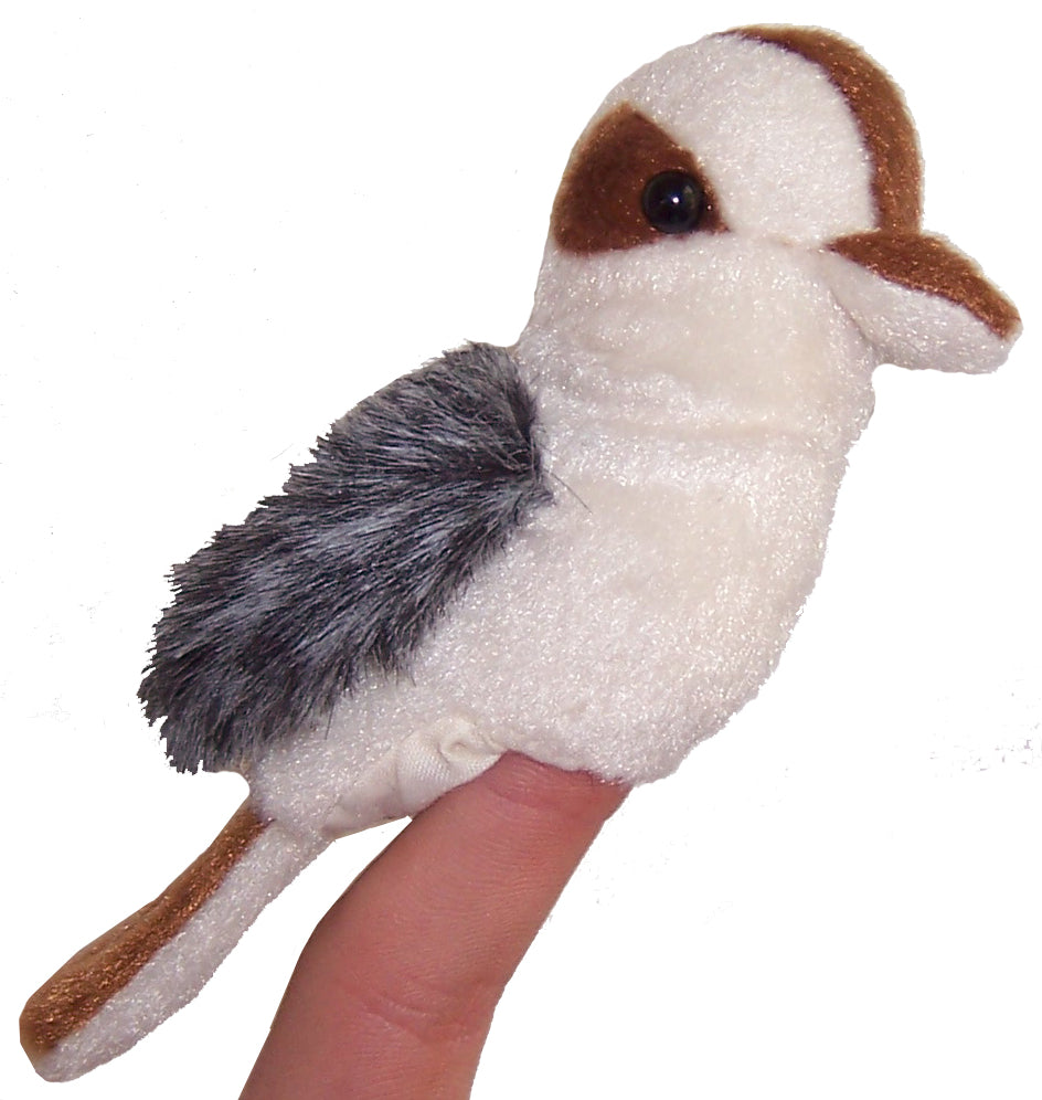 Kookaburra Finger Puppet | Animals of Australia | - STEAM Kids