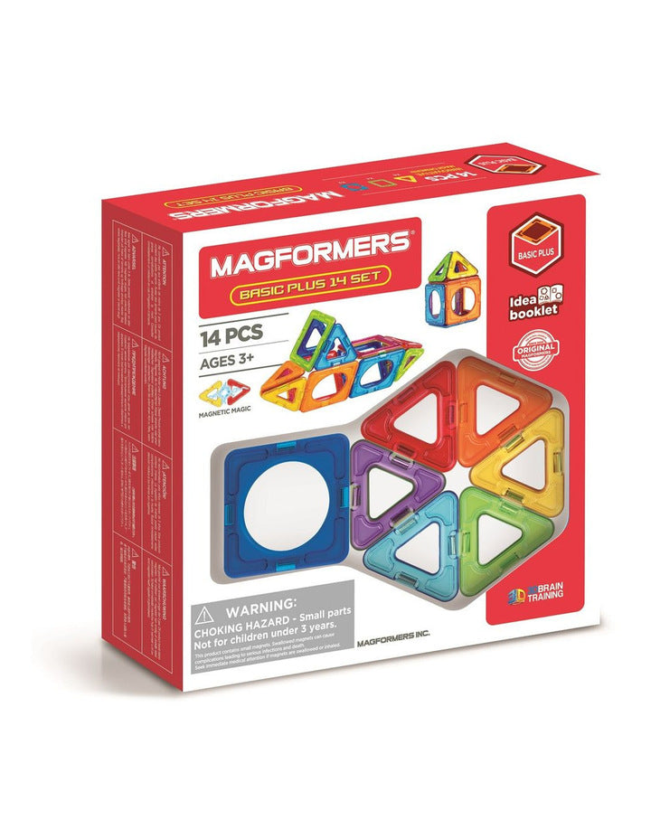 Magformers Basic Plus 14 (inner circle set) - STEAM Kids Brisbane