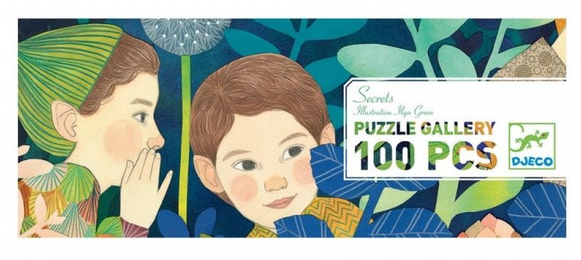 Djeco Secrets 100 Piece Puzzle - STEAM Kids Brisbane