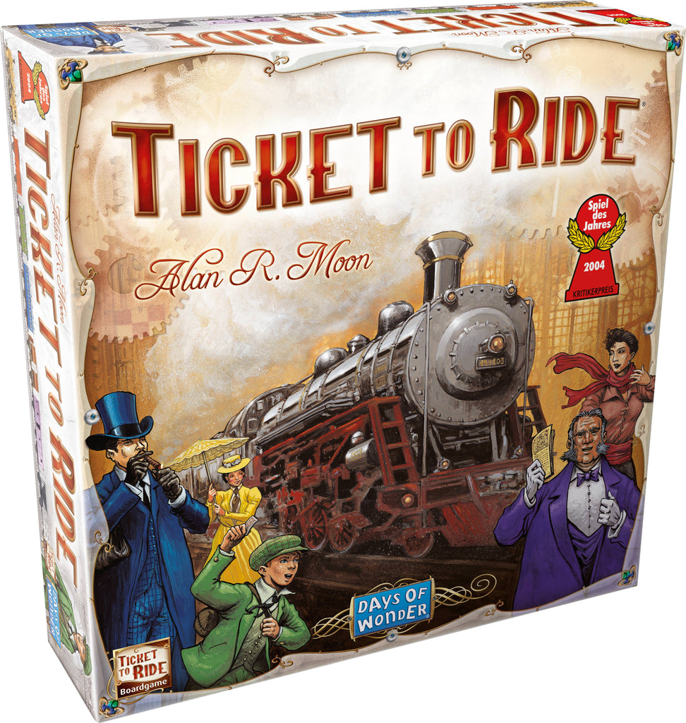 Ticket to Ride Days of Wonder - STEAM Kids