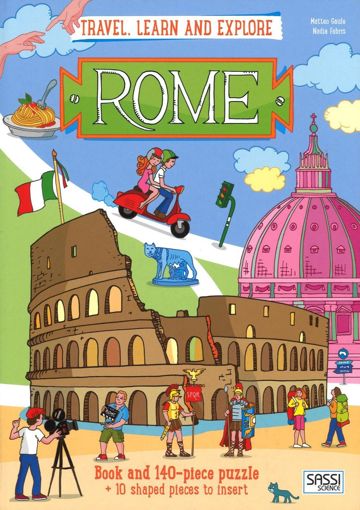 Sassi Travel, Learn & Explore Rome - STEAM Kids