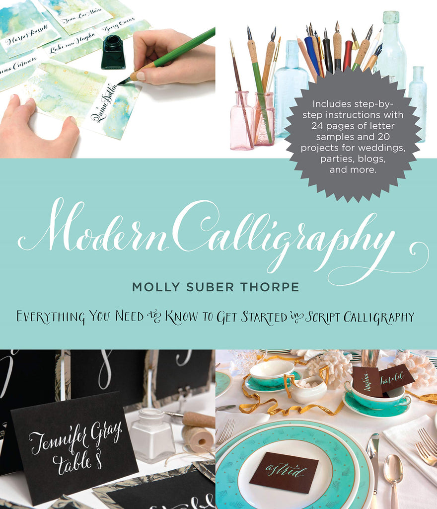 Modern Calligraphy  by Molly Suber Thorpe - STEAM Kids Brisbane
