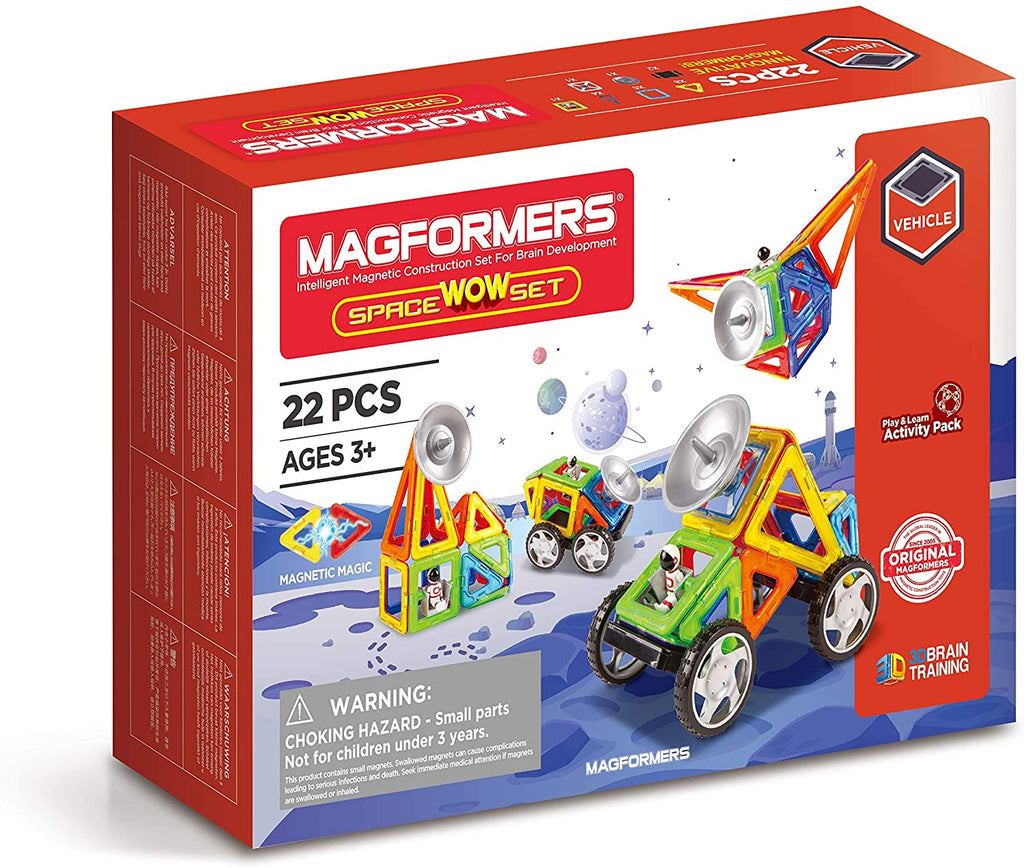 Magformers Space WOW Set - STEAM Kids Brisbane