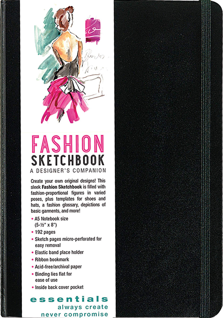 Essentials Fashion Sketchbook - STEAM Kids Brisbane