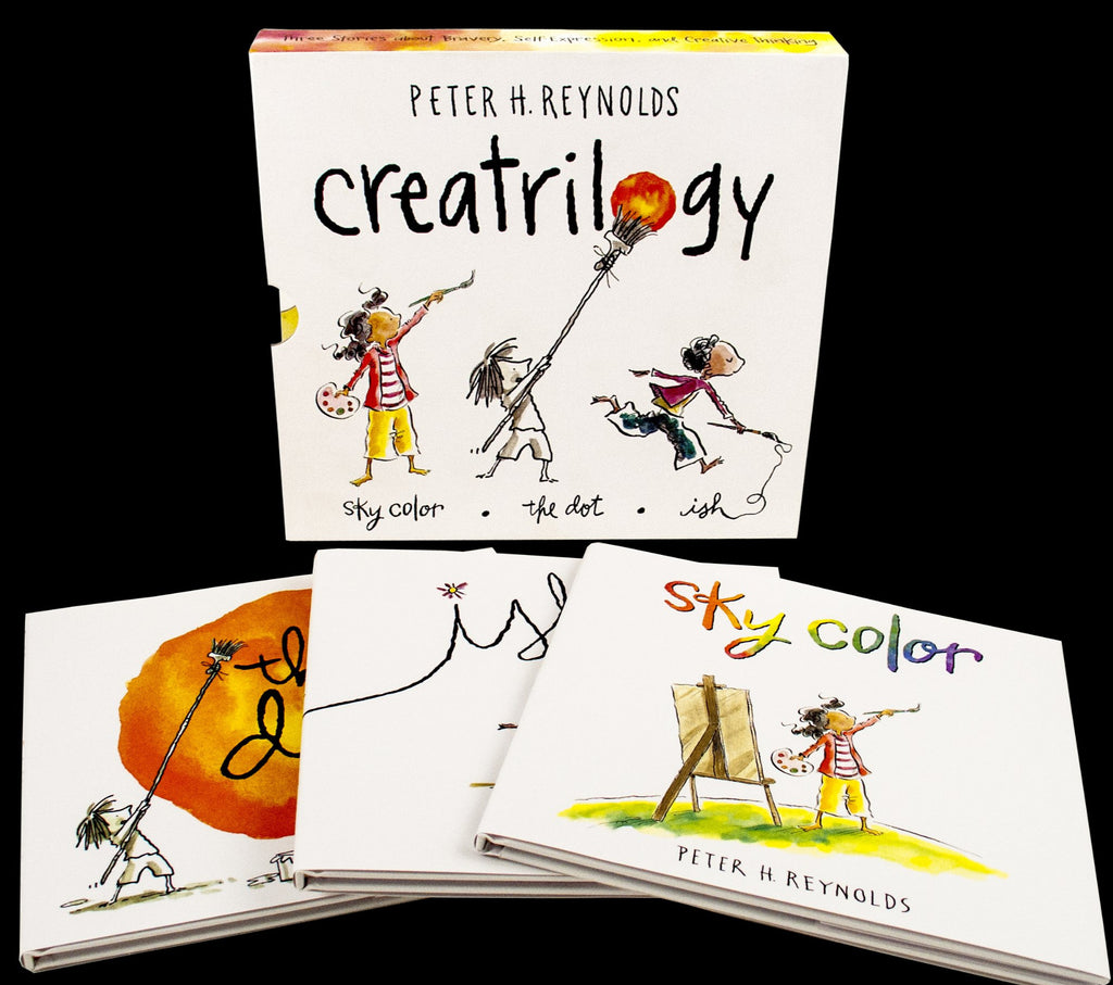 Creatrilogy - Hardcover Boxed Set Books - STEAM Kids Brisbane