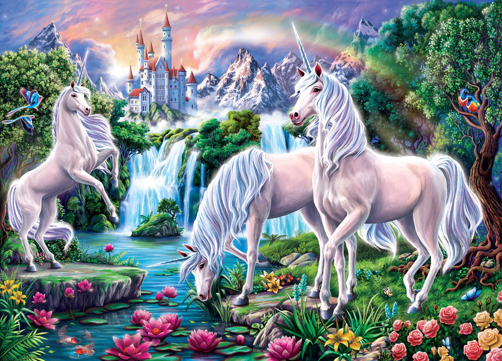 Unicorn Paradise 1000 Piece Puzzle |Peter Pauper Press| - STEAM Kids Brisbane