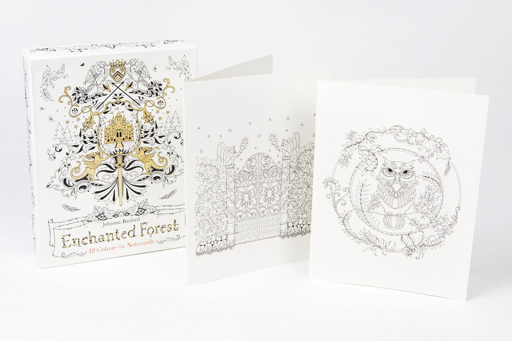 Enchanted Forest Notecards - STEAM Kids Brisbane
