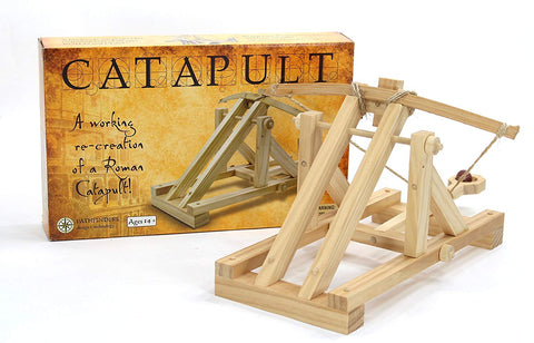 Roman Catapult Model Kit by Pathfinders - STEAM Kids Brisbane