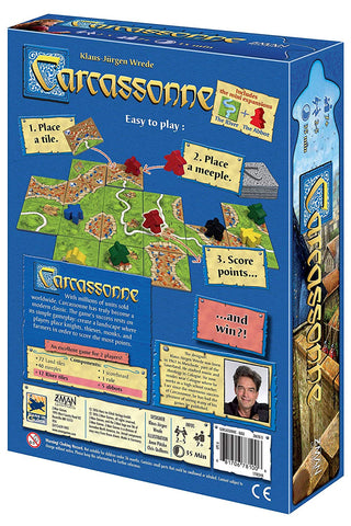 Carcassonne Board Game - STEAM Kids Brisbane