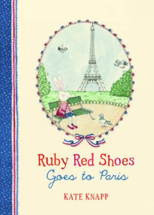 Ruby Red Shoes Goes to Paris Book - STEAM Kids