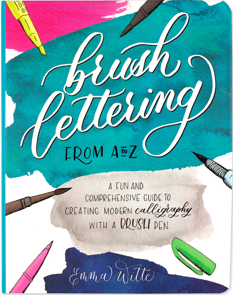 Brush Lettering from A to Z - STEAM Kids Brisbane