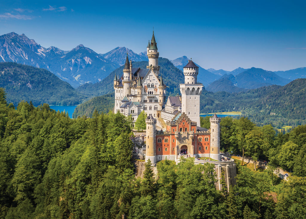 Neuschwanstein Castle 1000 Piece Jigsaw Puzzle |Peter Pauper Press| - STEAM Kids Brisbane