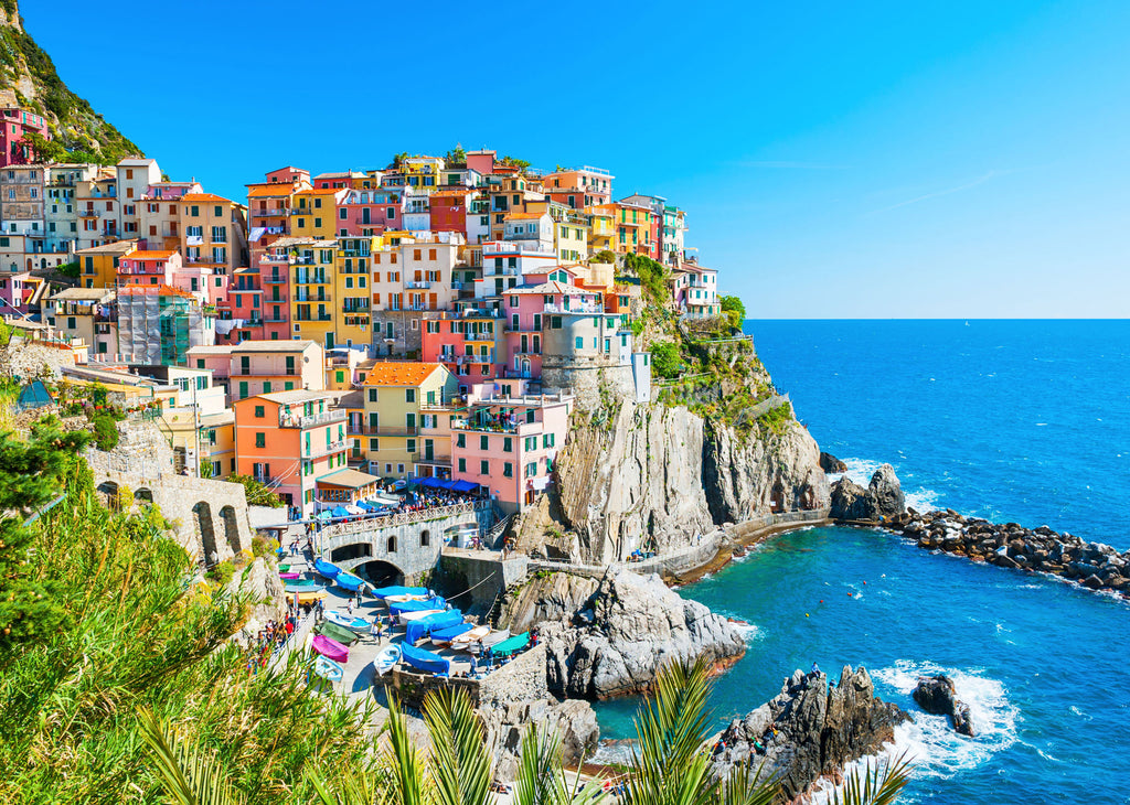 Cinque Terre 1000 Piece Jigsaw Puzzle - STEAM Kids Brisbane