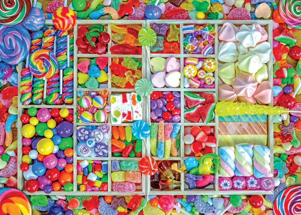 Candy Party 1000 Piece Puzzle |Peter Pauper Press| - STEAM Kids