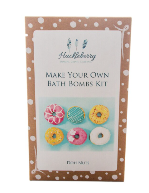 Huckleberry Make Your Own Bath Bomb Kit: Doh Nuts - STEAM Kids Brisbane
