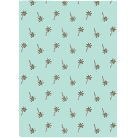 Harper Bee A4 Bookcover | Tropical Holiday Palmtrees | - STEAM Kids Brisbane