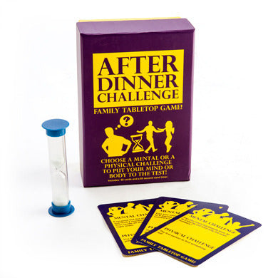 After Dinner Challenge Family Game - STEAM Kids