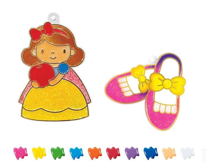 Amos Sun Deco - Princess Suncatcher Kit | Medium | - STEAM Kids Brisbane