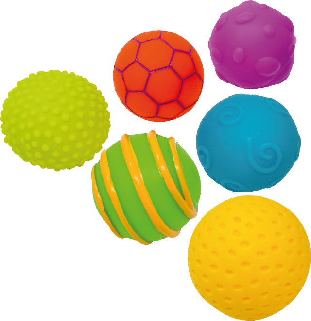 Wibblers Sensory Ball Set of 6 - STEAM Kids Brisbane