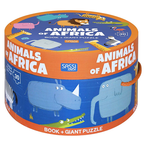 Animals of Africa Giant Puzzle, 30pcs